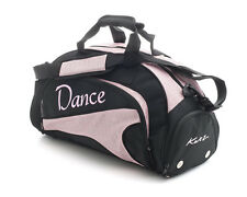 Medium Sparkly Pale Pink Dance Ballet Tap Kit Holdall Sports Bag KB95 By Katz