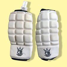 Brine Reign On Lo Pro Superlight AP White Black Lacrosse Arm Pads