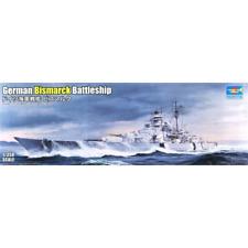 Trumpeter 05358 1/350 German Bismarck Battleship Plastic Model Kit Brand New