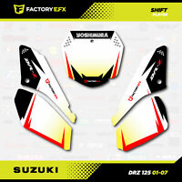 Racing # Number Plate Graphics Kit fits Suzuki DRZ125 01-07 DRZ 125 SHIFT Decal