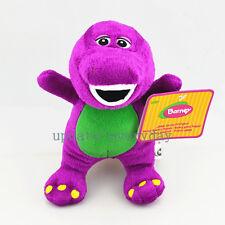 "Purple New Cute Dinosaur Barney Soft Plush Stuffed Singing Toy Doll Gift 7"" 18cm"