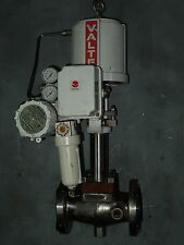 "3/4"" SS JACKETED VALTEK ACTUATED VALVE w/ I/P POSITIONER (S.N.  18308.1)"