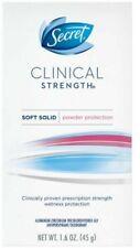 Secret Clinical Strength Soft Solid Powder Protection Deodorant, 1.6 oz (8 pack)