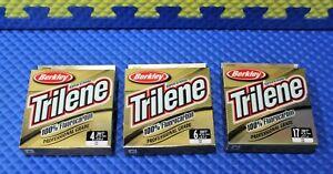 Berkley Trilene 100% Fluorocarbon 200 YDS TFFS-15 Clear CHOOSE YOUR LINE WEIGHT!