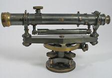 ANTIQUE SURVEY WYE LEVEL K & E ARCHITECTS MODEL WITH 360 SURVEY SCALE 1907
