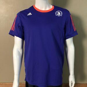 Adidas 2015 Boston Marathon SuperNova Running Shirt Jersey Size XL