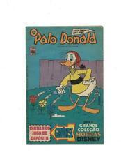 O Pato Donald #1352 1977  Brazilian Donald Duck Watering Flowers Cover!