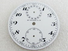 Henry Moser & Cie Chronograph Antique Swiss White Porcelain Dial (Watch-face)