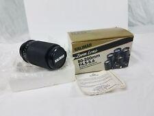 KALIMAR Yashica  Camera Lens Zoom 80-200mm f/4.5-5.6 Lens, With Box Vintage