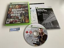 GTA Grand Theft Auto IV 4 - Microsoft Xbox 360 - PAL FR - Avec Notice et Carte
