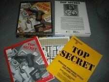 TOP SECRET Espionage Role-Playing Game (Good) by makers of AD&D - TSR Games