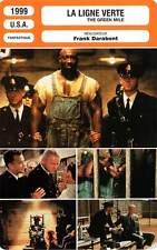 FICHE CINEMA : LA LIGNE VERTE - Hanks,Clarke Duncan,Hunt 1999 The Green Mile