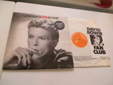 DAVID BOWIE ChangesOneBowie UK RCA RS 1055 Vinyl/Cover/Fanclub Insert: mint- OIS