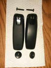 03-13 FORD EXPEDITION NAVIGATOR REAR BACK WINDOW GLASS HINGES RIGHT & LEFT SIDE