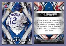 2017 Topps Fire #152 Kyle Schwarber Cubs in Near Mint Condition