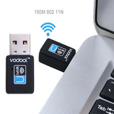 VODOOL 150M Mini USB Wifi Wireless Lan Internet Receiver Adapter For Laptop PC