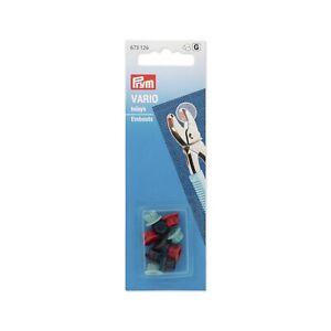 Ersatz Prym Vario Inlays Für Zange ( Nicht Nähen Verbindungen Snaps ) 673126