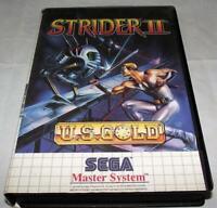 Strider II Sega Master System *No Manual*