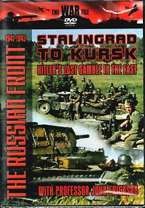 The War File: Stalingrad to Kursk DVD (2006) Professor John Erickson NEW/Sealed!