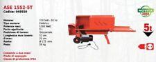 Fendeuse à Bois Éléctrique Horizontal Ase 1552-5T Série Attila À Moteur 230 Volt