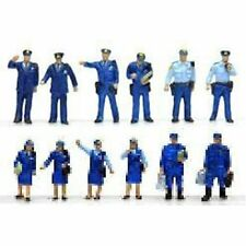 "Tomytec (Ningen 063) Model People ""People at the Police"" 1/15 N scale"