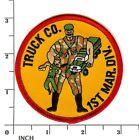 USMC+Truck+Company%2C+1st+MarDiv+PATCH+%21+Marines+%21+Trucking+%21+HQ+Motor+Transport+%21