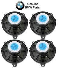 "For BMW E46 325Ci Set of 4 Front & Rear 6.25"" Speaker Bass Loudspeakers Genuine"
