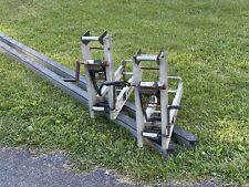 24' Pair Aluminum Pump Jacks, Poles, And Braces