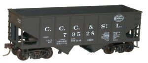 HO Scale - ACCURAIL 24012 NEW YORK CENTRAL (Big 4) 55-Ton USRA Twin Hopper - KIT
