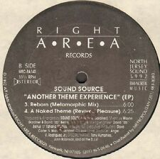 Sound Source - Another Theme Experience (EP) 1992 Right Area MRC-RA140 Usa