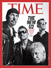 TIME Magazine U2 BONO Pope Francis Ian Paisley,John Kerry Narendra Modi McEwan