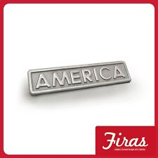 Alfa 75 1.8 Turbo America 3.0 V6 America targhetta scritta badge