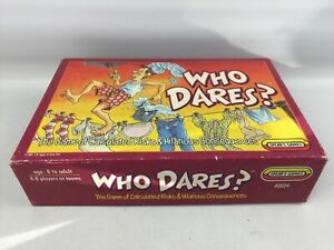 Vintage Who Dares? Game by Spears Games, 100% Complete, Boxed, 1991