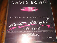 DAVID BOWIE CAT PEOPLE ETAT NEUF