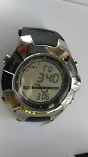 SUUNTO STAINLESS STEEL OBSERVER ADVENTURE WATCH.