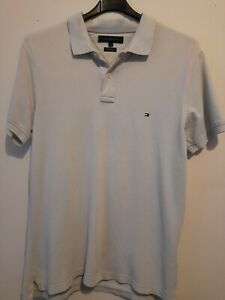 Mens tommy hilfiger polo shirt large