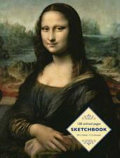 Sketchbook: Mona Lisa by Leonardo da Vinci by Peony Press Paperback Book 978