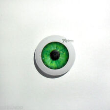 Little Pullip 1/6 bjd Dollfie Acrylic Plastic Eye 12mm Dark Green (PAIR)