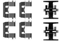 Mintex Front Brake Pad Accessory Fitting Kit MBA1208  - 5 YEAR WARRANTY