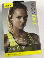 JABRA Sportpace Wireless Earbud Headphones / Bluetooth / Black & Blue / $99.99