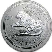 2010 Australia Perth Year Tiger Lunar Series 2 - 0.5 oz 999 Silver Coin #A