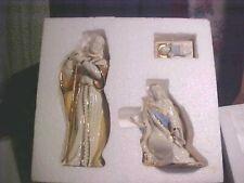 New In Box 3 Pc Lenox First Blessing Holy Family Nativity Mary Joseph Jesus Set
