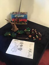 Playmobil 3626 Robin Hood Forestmens Hideout Knights Castle Set Rare Vintage