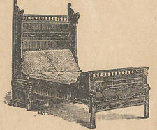 1879 CENTENNIAL FOLDING BED TRADE CARD SAN FRANCISCO VIEW, NY CO *ON SALE* TC192