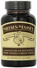 Nielsen Massey Madagascar Bourbon Vanilla Paste 4 oz, Syrup Extract, New
