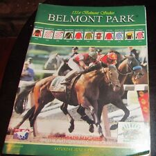 1999  BELMONT STAKESPROGRAM - CHARISMATIC