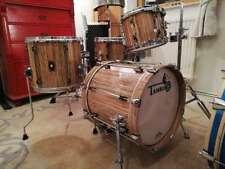 "TAMBURO Drumset  SERIE  ""OPERA"" in Olive  Top SOUND  - 4 pcs. SHELLSET !!!"