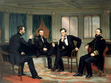 Nice Oil painting The Peacemakers President of Abraham Lincoln in his Office