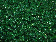 Sequins Cup 6mm Laser Green 20g Lazer Dancing Costumes Beading  FREE POSTAGE