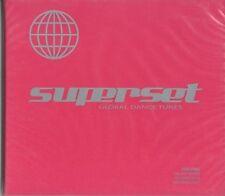 AA.VV. SUPERSET GLOBAL DANCE TUNES CD SEALED DIGIPACK